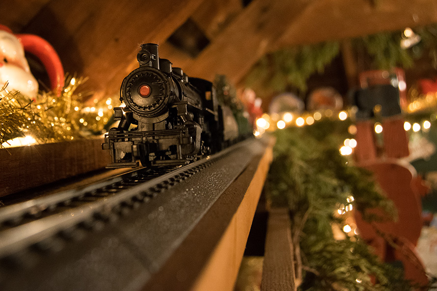 The Christmas Tree Express